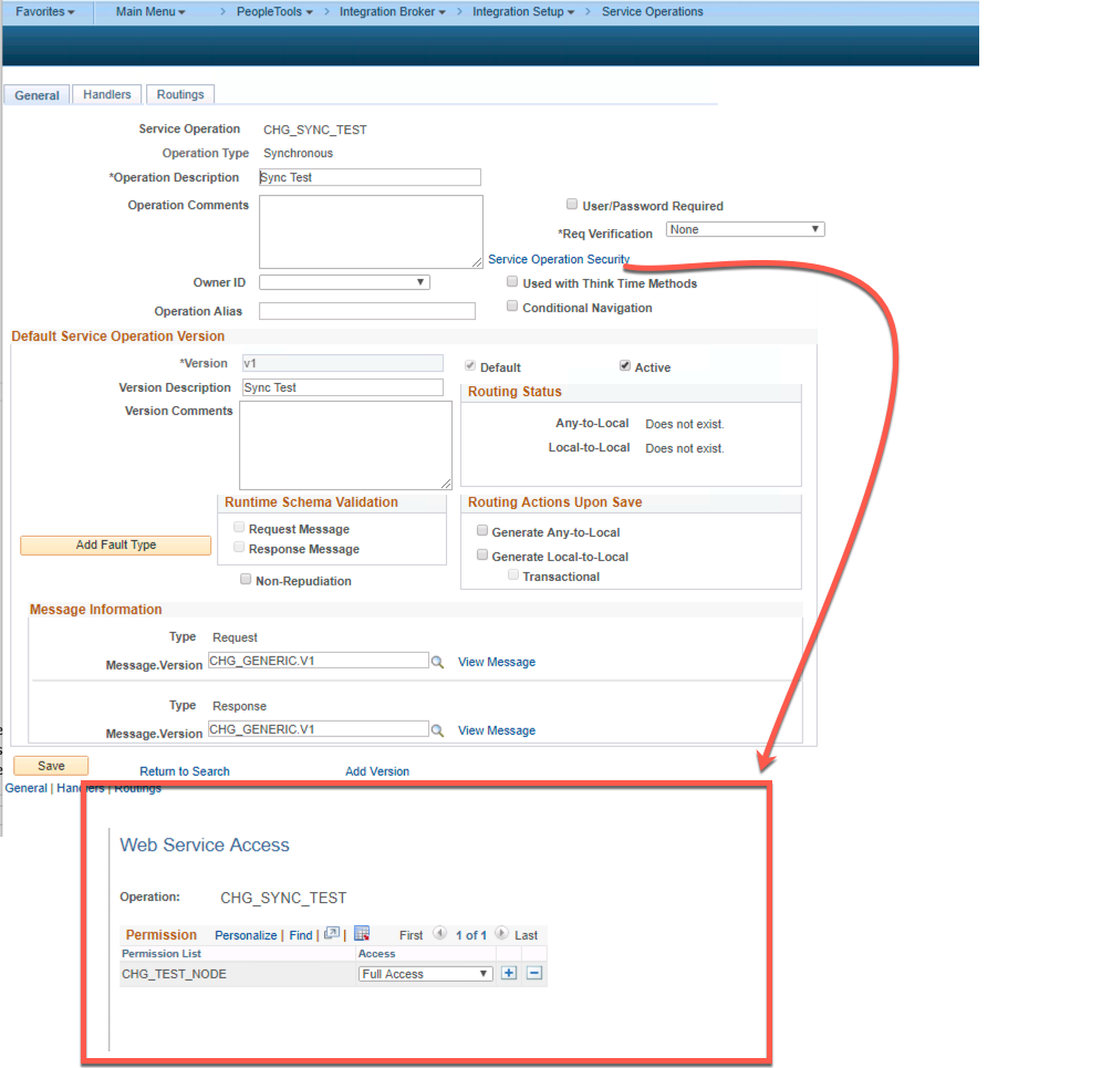 Synchronous HTTP Post To PeopleSoft Integration Broker